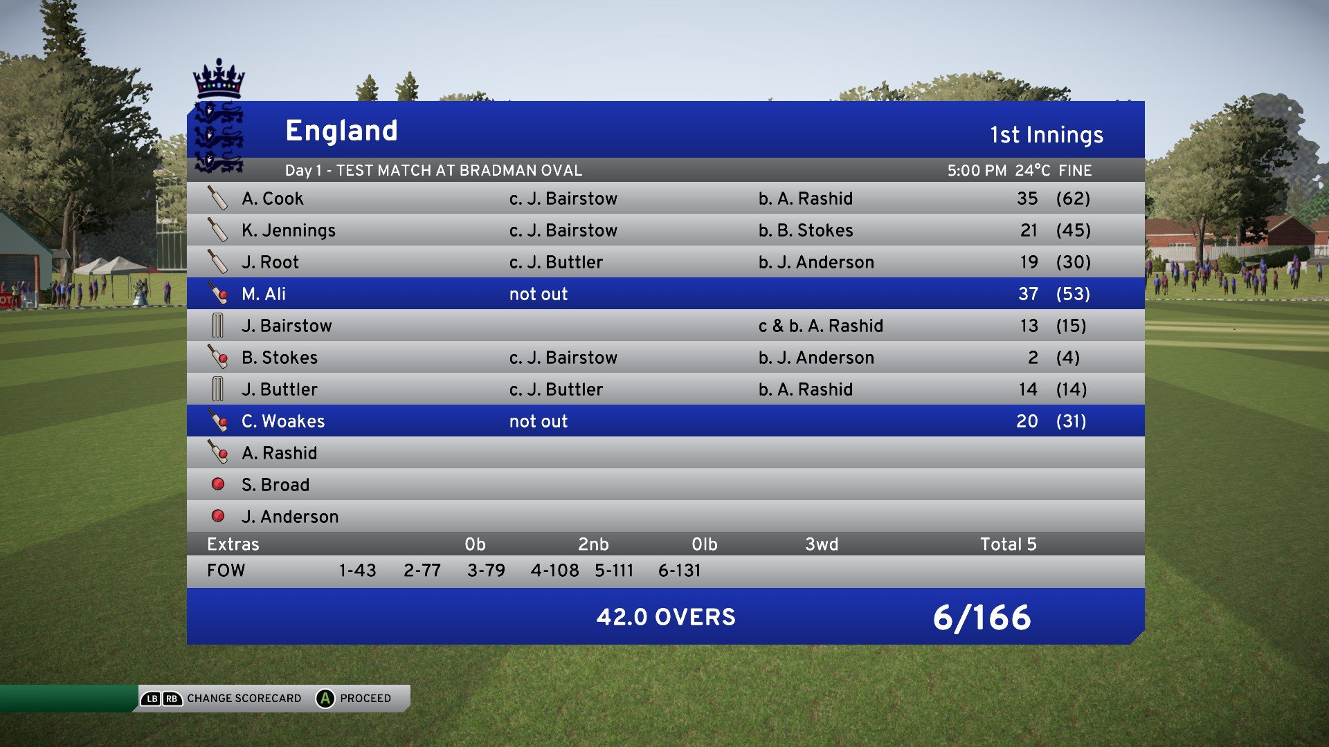 Steam update for DBC17 released | Page 101 - Don Bradman Cricket 17