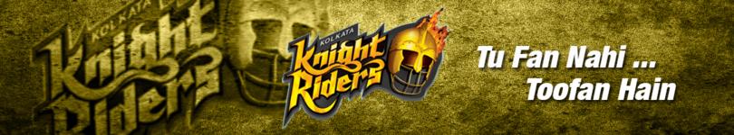 Kolkata Night Riders Banner 2008.png